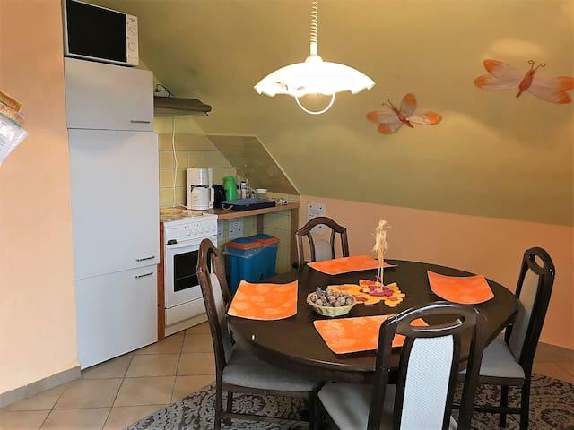 kitchen of ETF Apartment