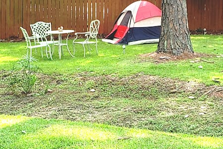 Sycamore Tree  Creek Tent Space only