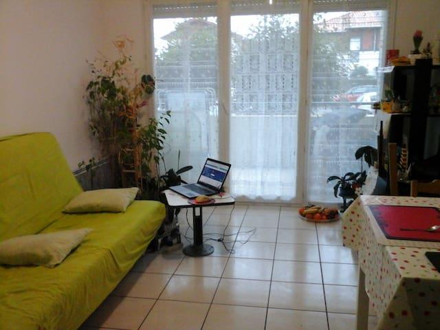 Joli appartementT2 à Tarnos