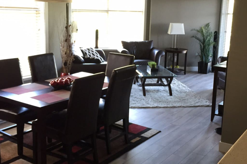Spacious 1005 sq ft condo with brand new flooring.