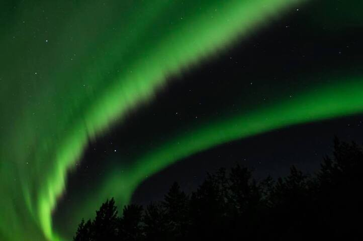 Northern Lights from Driveway-September, 2018