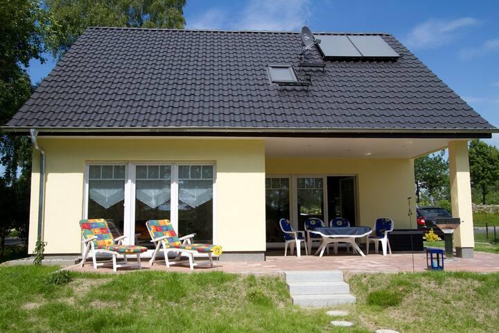 Ferienhaus Ellernblick mit Kamin & Sauna +Haustier
