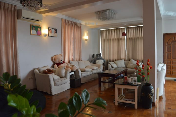 Private Room Near to Airport +Wifi