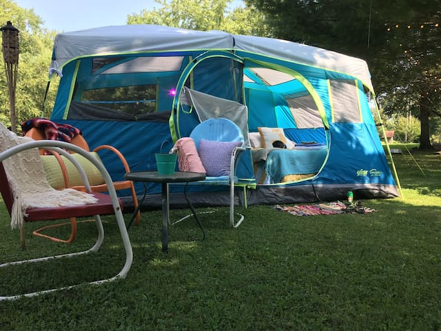 Glamping on the Little Sandy
