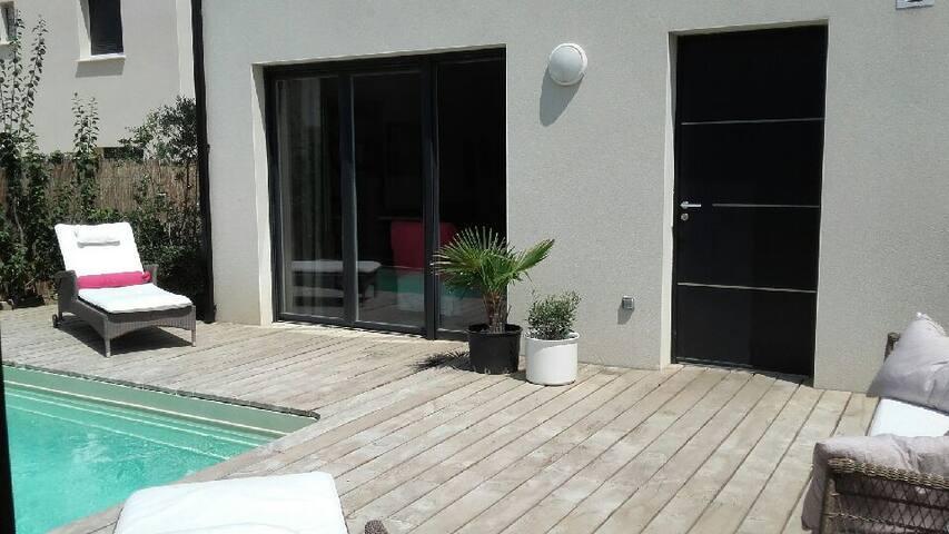 Villa 110 m2 dans un village proche Montpellier