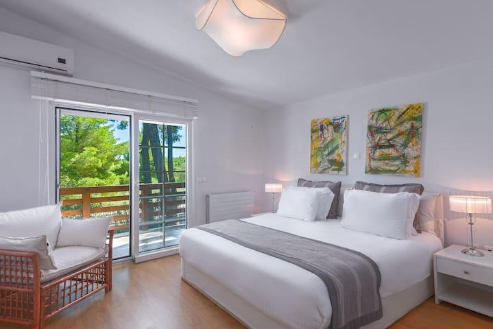 bedroom 1 - sani - sane - halkidiki - greece