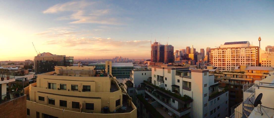 Pyrmont Penthouse with Rooftop - Pyrmont - Lägenhet