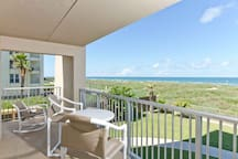 Edgwater Condominiums 207 is on the north end of the second floor of this fabulous beachfront community.