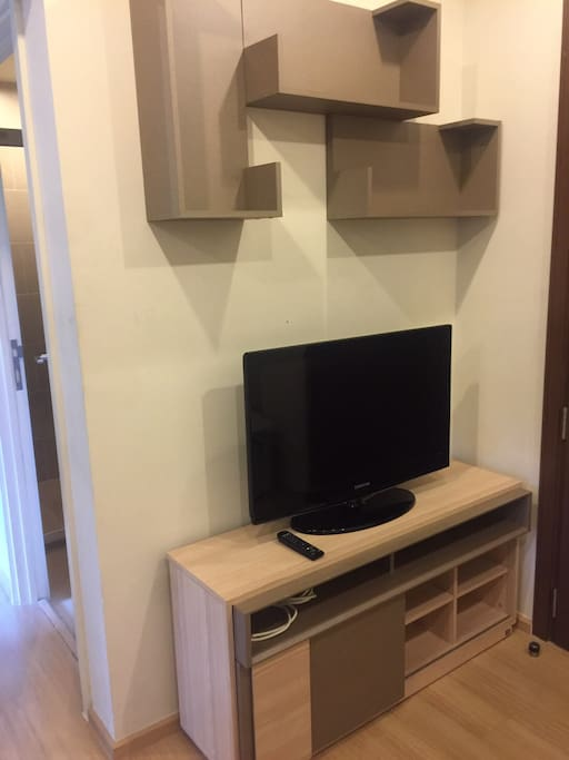TV at the living room