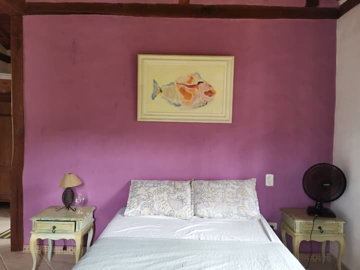 Quarto do aconchego (súite privada)