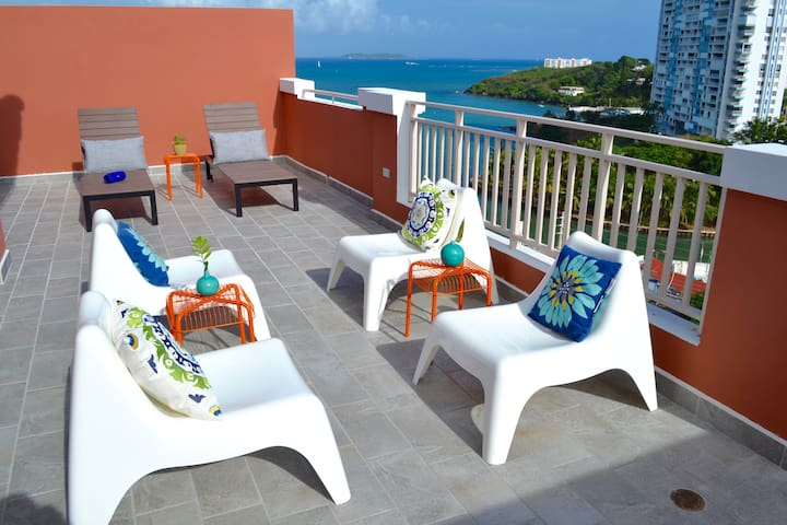 Rooftop Terrace | Ocean Views | Ping Pong Table - Fajardo