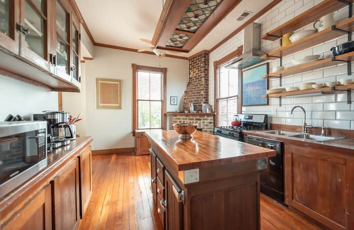 Flexible Refund Policies: Charming Home Perched on Warren Square W/ Parking