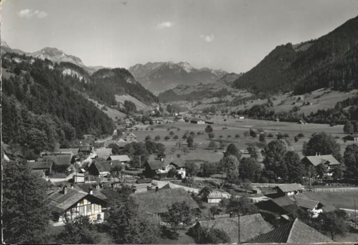 325 Year Swiss vYntage Chalet, Gstaad/Interlaken