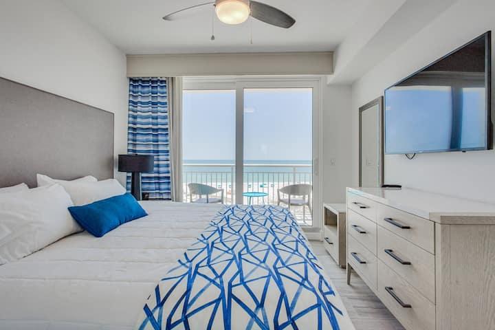 Listen to the Ocean -  New Beachfront Condo
