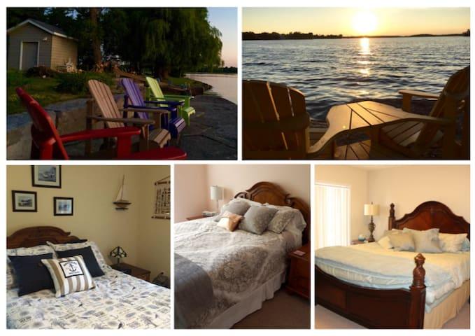 Lakeshore Retreat on Buckhorn Lake/3 rooms  6 ppl - Ennismore - Bed & Breakfast