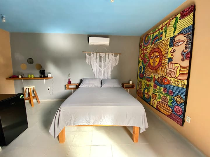 Jungla Bacalar, Casa Guacamayo 5ta. av