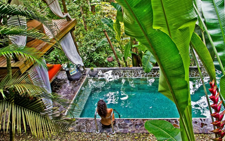 CANAIMA CHILL HOUSE, Eco Chic Suite Room 1 - 2pax