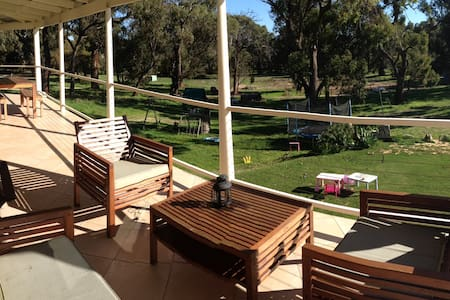 Family farm stay south of Mandurah - Herron