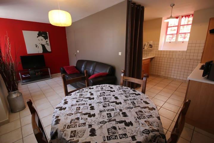 PROMO!! Gîte 4 pers vue sur les Gorges et le Tarn - Sainte-Énimie - Apartment