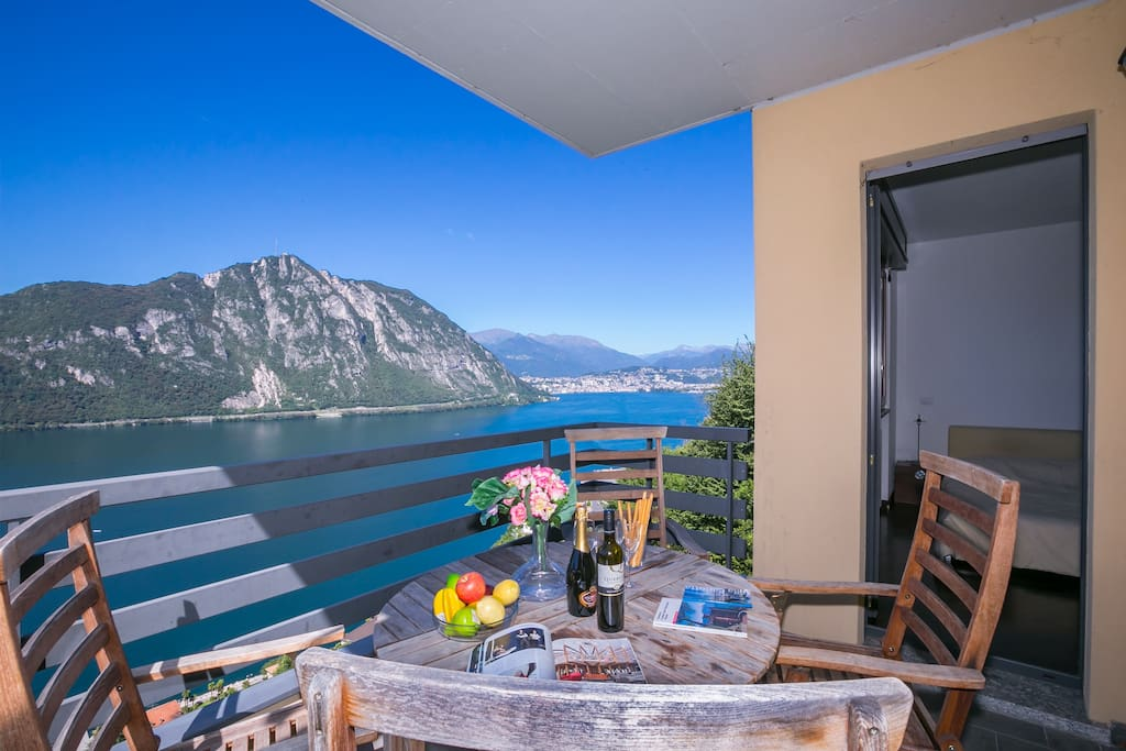 Amazing views of Lake Lugano