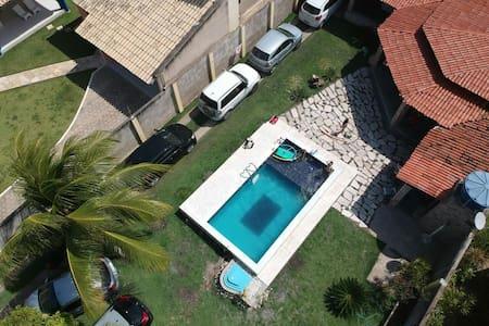 Casa Linda na Barra de  São  Miguel