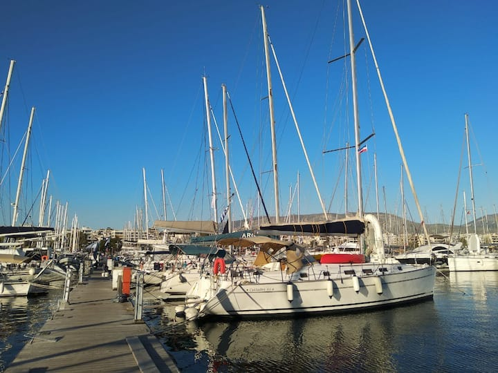 greece sailing with La Luna Boat