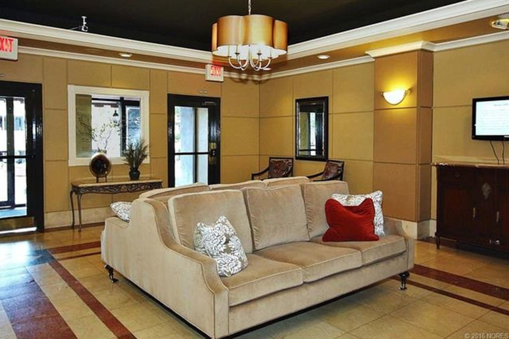 Inviting and comfortable Lobby