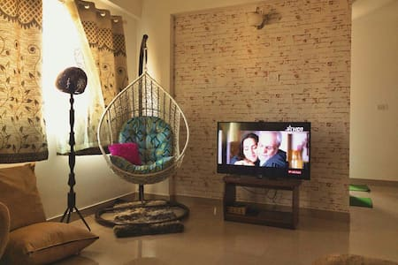 Well lit, friendly, modern aesthetic stay - Bangalore - Byt