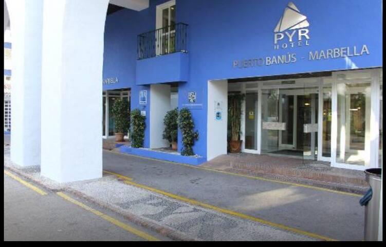 Luxury Room in Hotel Puerto Banus