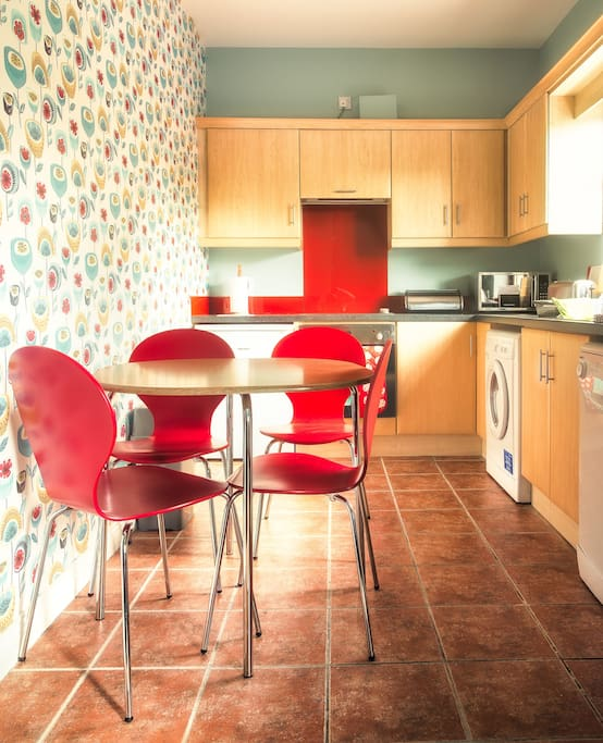 Fully Fitted well equipped Kitchen