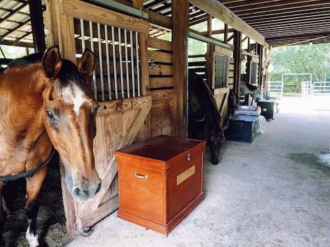 A Private Loft at Grand Landings Equestrian Center
