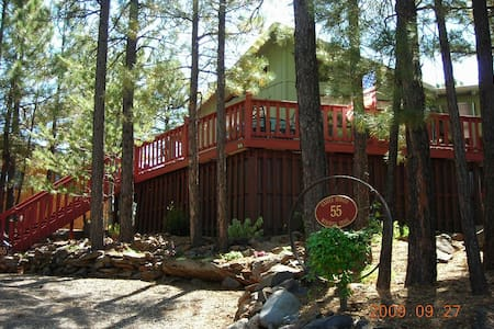 Casita Bonita-Romance in the Woods - Munds Park - Cabana