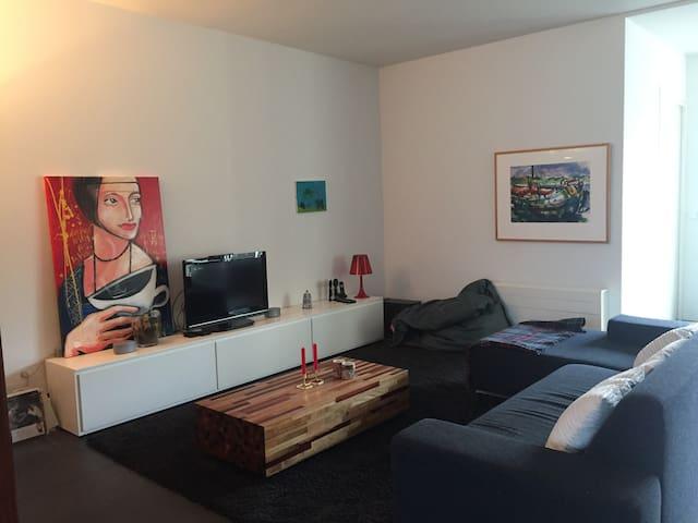 Modern, licht familiehuis + tuin + free parking - Groningen - Casa