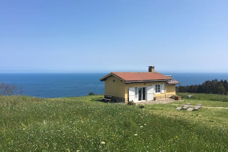 Cottage on a Cliff, close to Gijon - Rumah