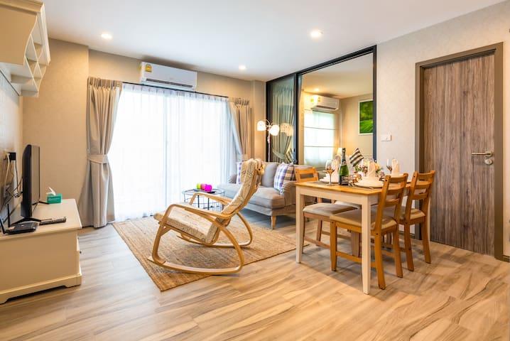 2 Bedroom Splendid Apartment @Nai Yang beach–250m