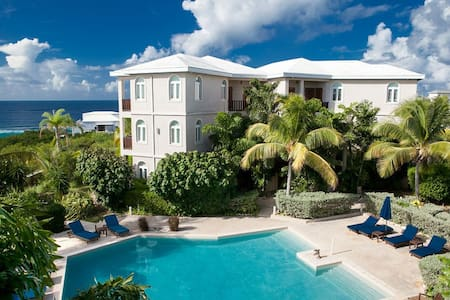 """Fountain Anguilla by """"Refined Retreats""""~2 King Suites~Full Kitchen~2 Balconies!"""