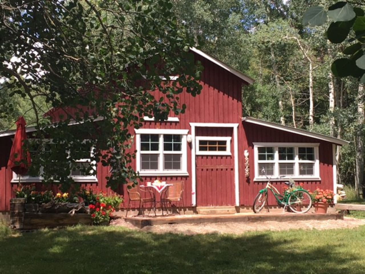 Enjoy it all!  Barn, Beach, Retro all on the South Ark River in your front yard.   We provide a fascinating stage and props - you are the lead players for the scenes of your romantic interlude & adventures... relax and enjoy!