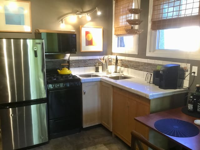 Small but efficient kitchen