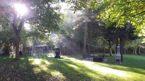 Traumhaft gelegene Unterkunft lädt zum erholen ein