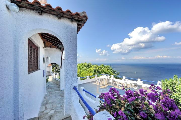 Villa VIOLA. Private direct  access to the sea!