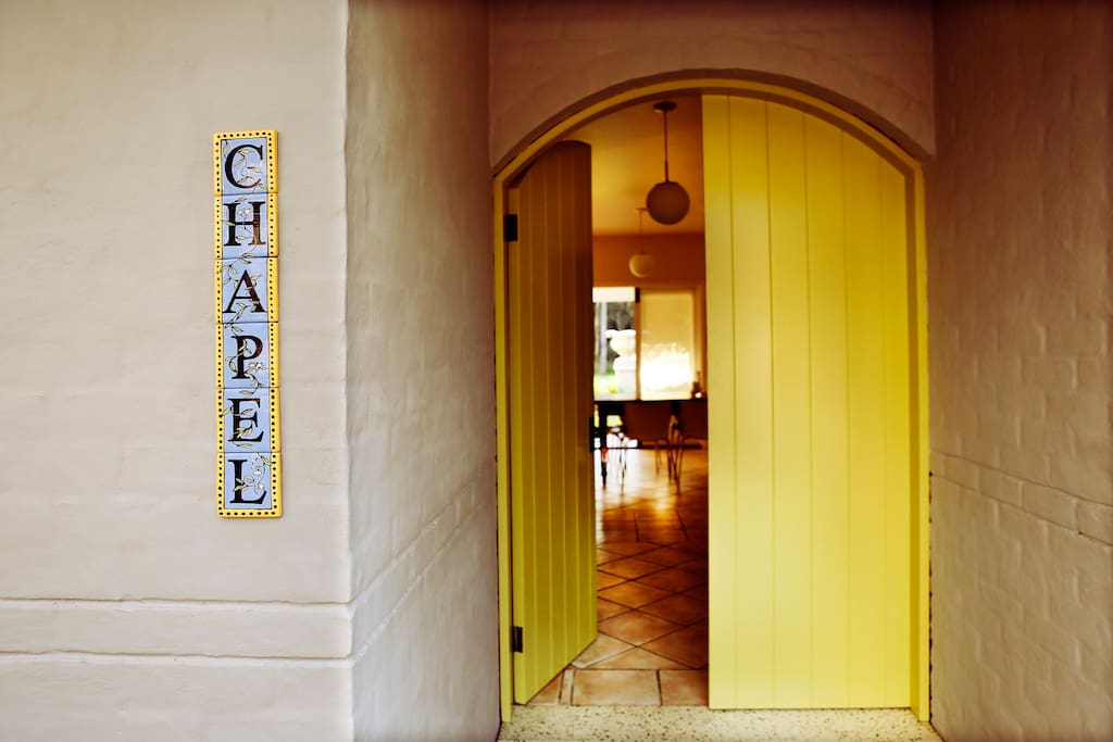 The Chapel House offers four bedrooms with ensuite, full kitchen and dinning, lounge with fireplace and tranquil courtyard.