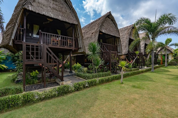 Dream Beach Kubu & Spa ( Deluxe Hut Sea view )