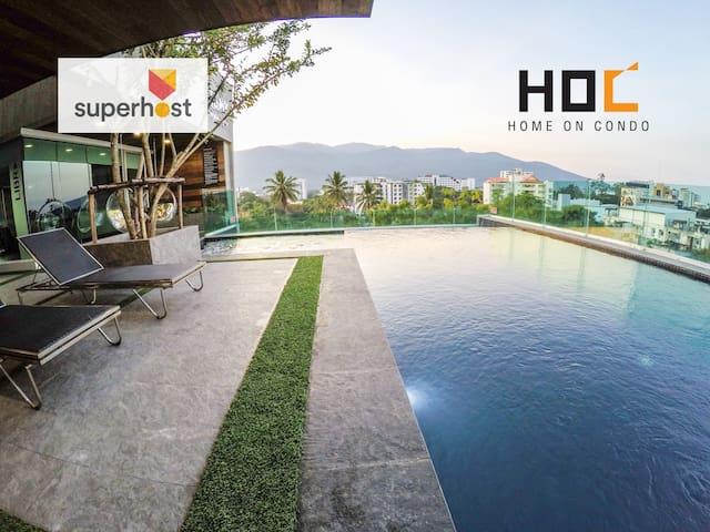 HOC4: Convenient and cozy of life - Si Phum - Apartment