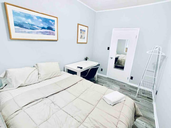 ♥Room#2 Near NYC/EWR airport/Jersey Gardens Outlet