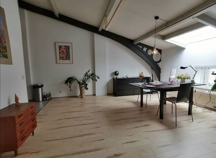 Spacious studio in the heart of Rotterdam
