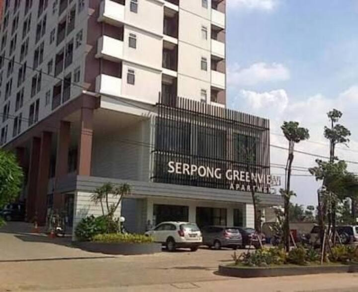 Apartemen Serpong Greenview with sky garden