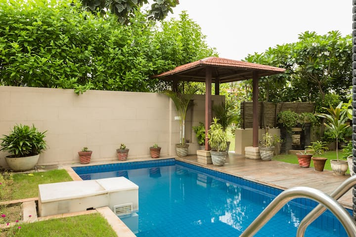 Private Pool Villa within Gurgaon city