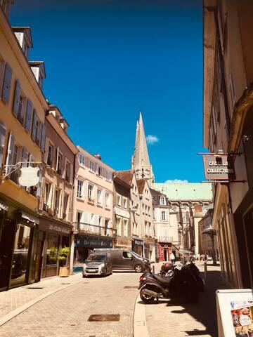 Appartement au pied de la Cathédrale de Chartres
