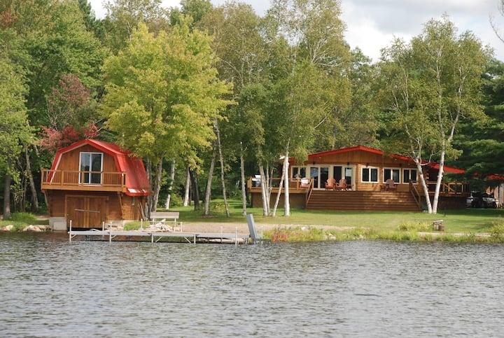 Fantastic waterfront luxury cottage