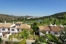 Superb golf course views